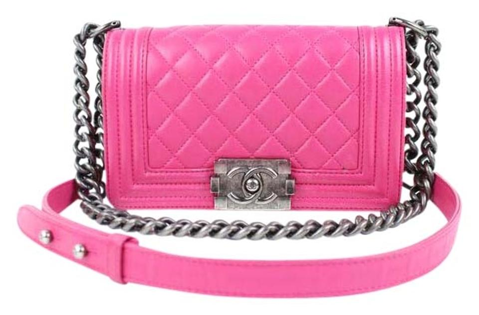 Chanel Boy Classic Flap Gabrielle Square Mini Shoulder Bag