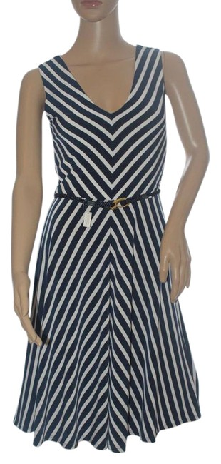 Preload https://img-static.tradesy.com/item/22067736/lauren-ralph-lauren-navy-and-white-belted-stripe-and-jersey-pxs-short-casual-dress-size-petite-2-xs-0-1-650-650.jpg