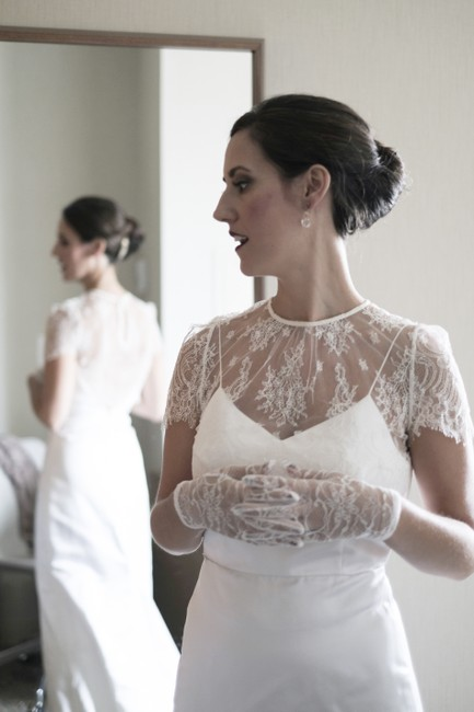 Item - Off White Lula Lace Topper Size 4/6