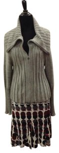 Sarah Pacini Crop Wool Multi-way Mohair Jacket Sweater
