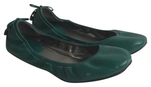 Cole Haan green Flats
