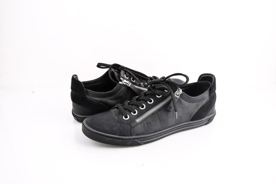 f93179a1e48d Louis Vuitton   Damier Adventure Zip-up Sneakers Shoes. Size  US 8 ...