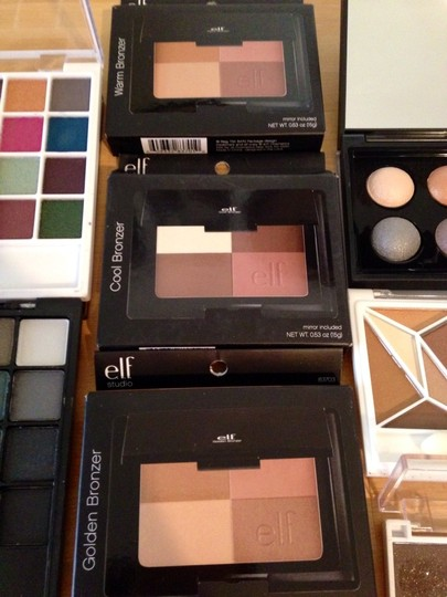 e.l.f. Elf Eyeshadow And Bronzer Palettes Bundle