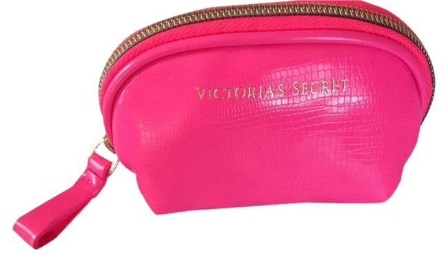 Item - Hot Pink Small Cosmetic Or Coin Purse Wallet