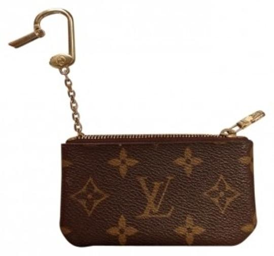 Preload https://item5.tradesy.com/images/louis-vuitton-lv-coin-keychain-brown-leather-wristlet-22069-0-0.jpg?width=440&height=440
