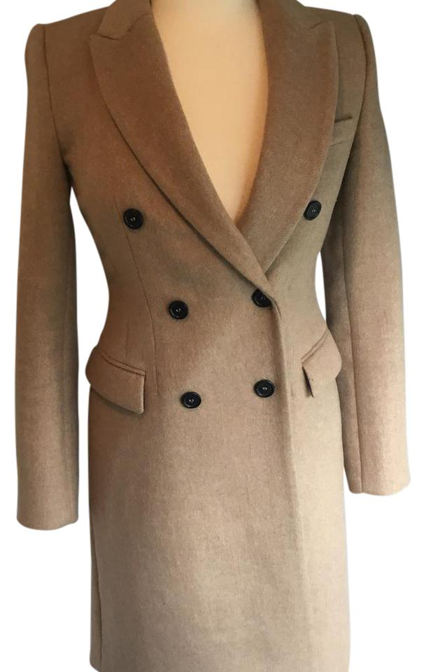cheapest price special for shoe fashion styles Camel Double Breasted Coat