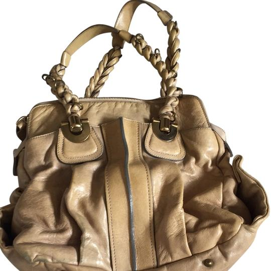 Chloé Satchel in Taupe