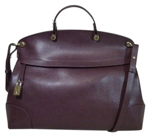 Furla Satchel in Burgundy