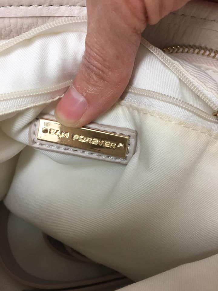 Off White Bicast Leather Hobo Bag 77 Off Retail