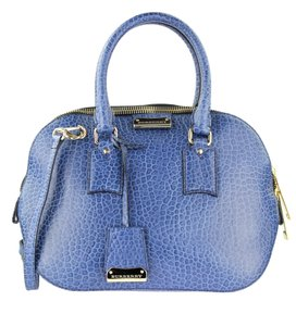 Burberry Orchard Heritage Tote in blue