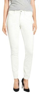 NYDJ Ankle Nichelle Corduroy Cords Straight Pants Winter White