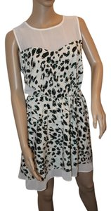 W118 by Walter Baker short dress Black, Blue and white on Tradesy