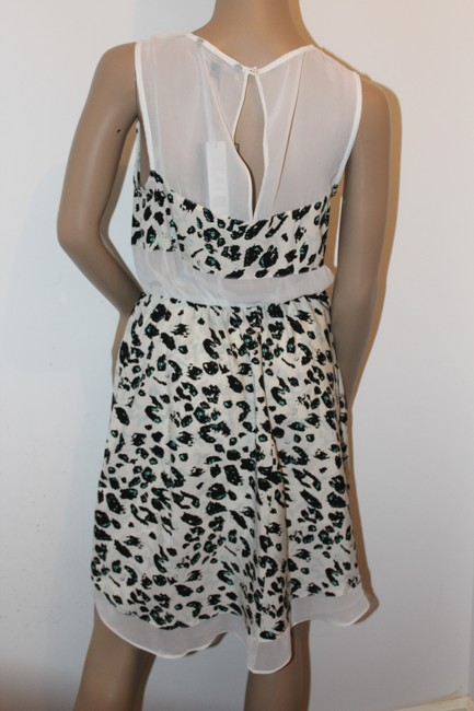 W118 by Walter Baker short dress Black, Blue and white on Tradesy Image 1