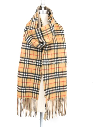 Burberry London Long Reversible Vintage Check Double-faced Cashmere Scarf Image 3