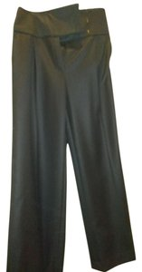 Brioni Wide Leg Pants Black