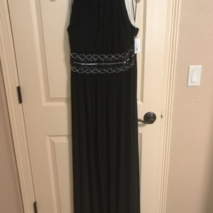 R & M Richards Black Brand New Black Bridesmaid Dress Dress