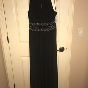 R & M Richards Black Brand New Bridesmaid Dress Dress