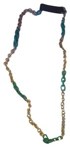 J.Crew Teal Long Necklace