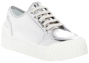 Marc by Marc Jacobs Riley Lowtop Lace-up Silver Platforms