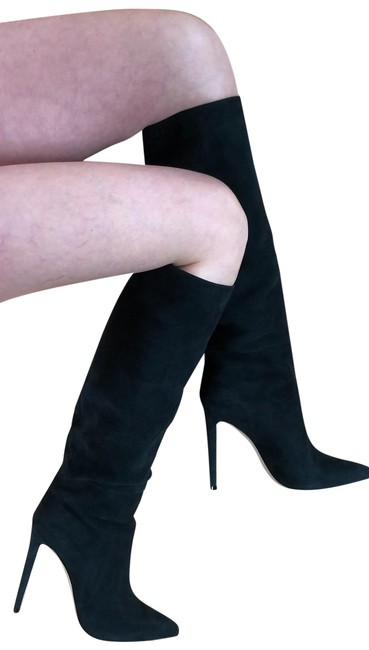 Item - Green Royal Tall Suede Heels Item #6869694 Boots/Booties Size US 9 Regular (M, B)