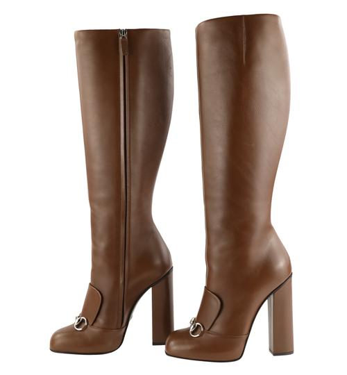 Gucci Brown Boots Image 4