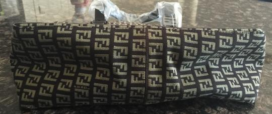 Fendi Tote in Beige and Brown