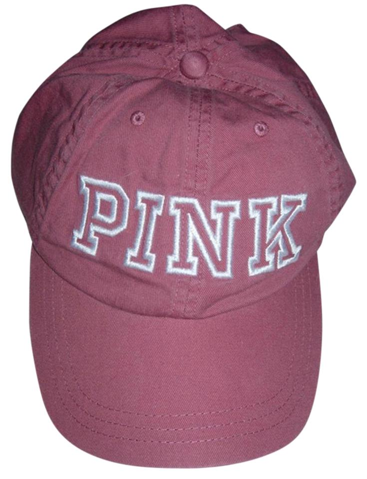 ec7bb5214a648 PINK Victoria s Secret PINK Dad Hat Ball Cap Soft Begonia Pink NWT ...