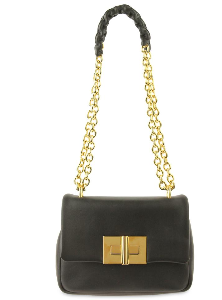 0128c4eeee36 Tom Ford Natalia Small Black Leather Shoulder Bag - Tradesy