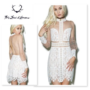 bf90a0c881c52 White For Love & Lemons Short Cocktail Dresses - Up to 70% off at ...