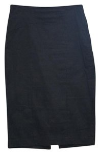 New York & Company Skirt black with tie in back
