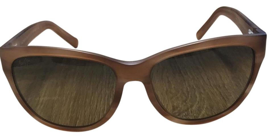 df8f477a376 Maui Jim Matte Brown Ailana 273-22m Sunglasses - Tradesy