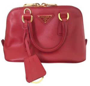 Prada Mini Leather Cross Body Bag