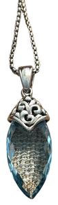 Charles Krypell Charles Krypell Aspen Collection Blue Topaz Pendant/Necklace