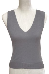 Max Studio Top heather gray
