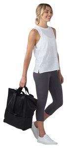 Lululemon Gym Yoga Mesh Totebag Sold Out Tote in black