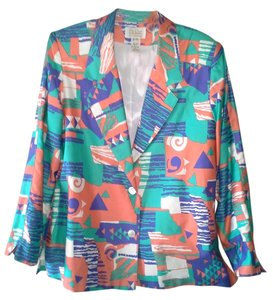 Da-Rue Gren Blue Orange White Multi Blazer