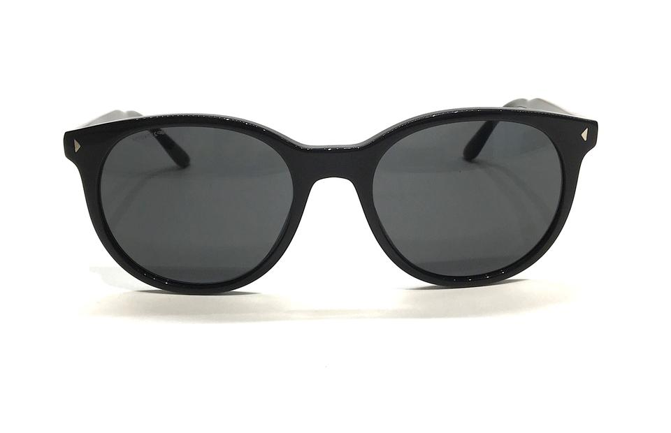 0b29cfce00b25 Prada Black   Silver   Gray Lens New Semi Rounded Spr 06t 1ab5s0 Free 3 Day  Shipping Sunglasses