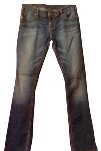 Buffalo David Bitton Straight Leg Jeans-Distressed