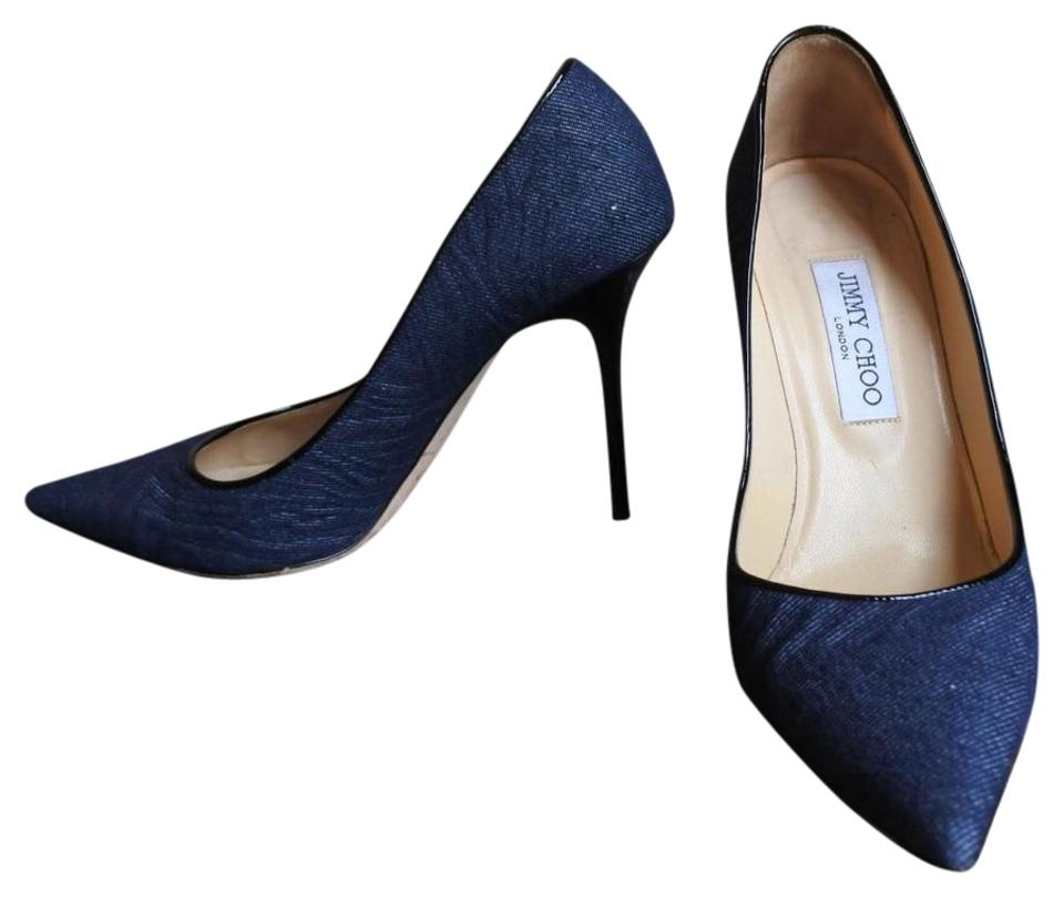 6953bf3c316 Jimmy Choo Denim Abel Pumps Size EU 39 (Approx. US 9) Narrow (Aa