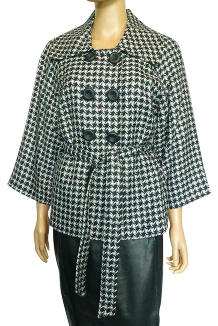 Item - Black New Wool Blend Jacket Size Petite 12 (L)