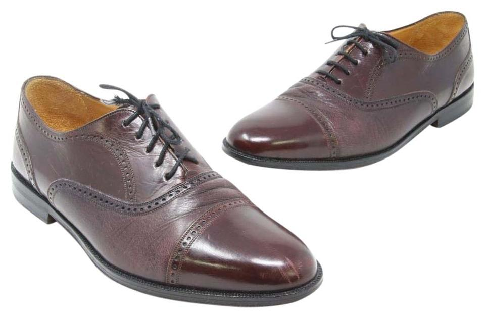 1971a63964c Mezlan Chocolate Brown Signature Cordovan Cap Toe Luxury Calfskin Leather  Oxford Dress Formal Shoes