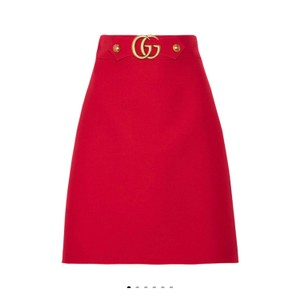 Gucci Skirt red