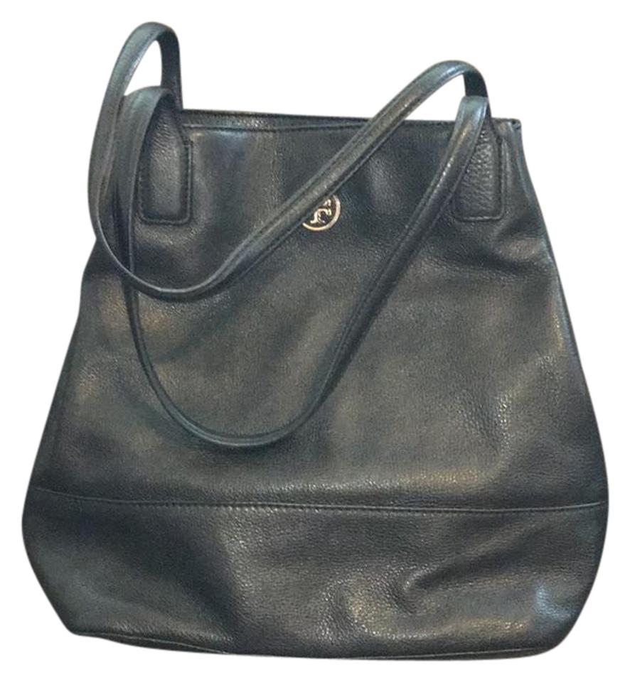 a757bb5048 Tory Burch Michelle Tote Black Leather Hobo Bag - Tradesy