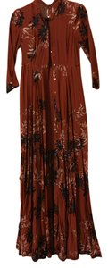 Red Floral Maxi Dress by Free People