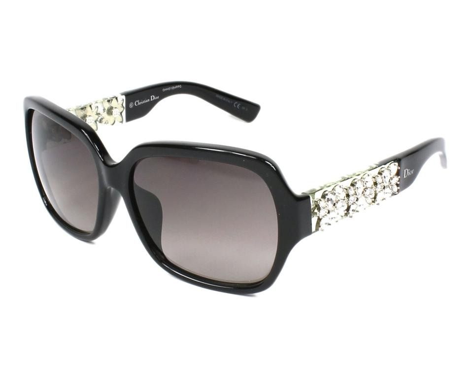 28911cab1bdf4 Dior NEW Dior Mystere F Limited Edition Crystal Square Sunglasses Image 0  ...