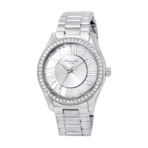 "Kenneth Cole Kenneth Cole New York Women's KC4851 ""Transparency"" Crystal-Accented S"