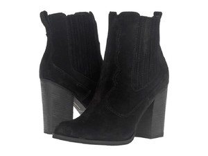 Dolce Vita Suede Leather Ankle Pointed Toe Black Boots