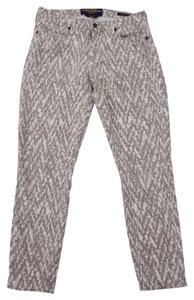 Lucky Brand Sofia Capri Leopard Capri Capri/Cropped Denim-Light Wash