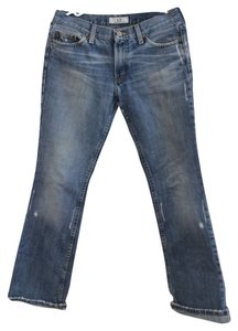 Armani Exchange Boot Cut Jeans-Medium Wash