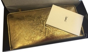 Saint Laurent Saints Laurent YSL Logo Wallet